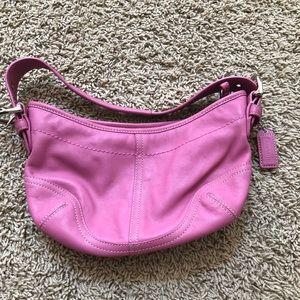 Mini Coach purse in pink